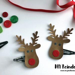 DIY Reindeer Clips