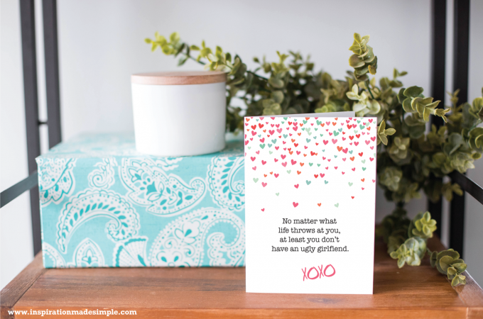 Funny printable card for your boyfriend on his birthday or Valentines Day!