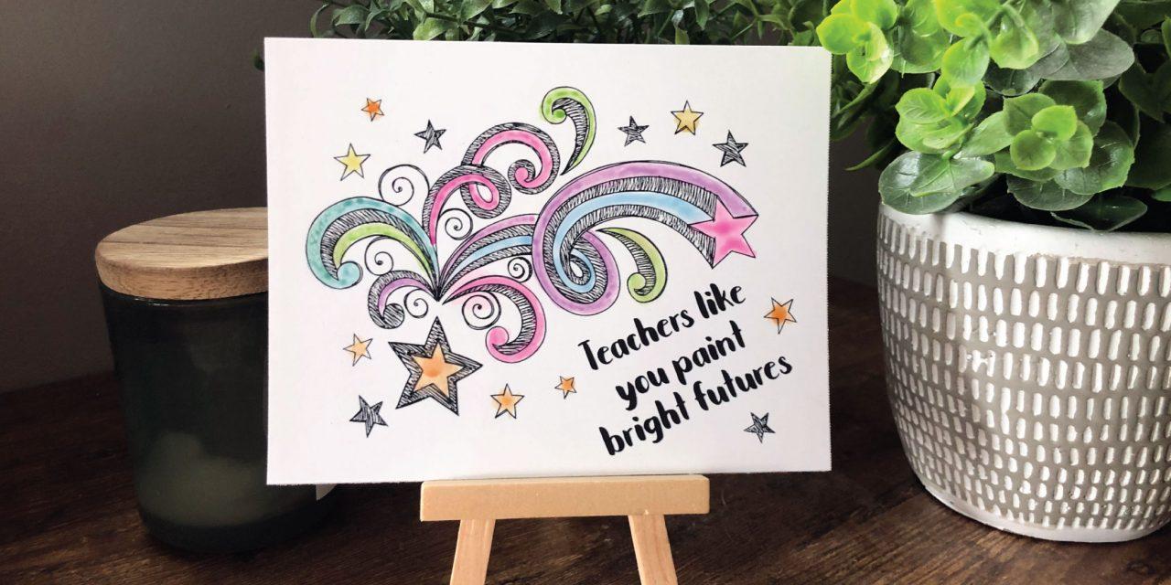 Postcards for teachers