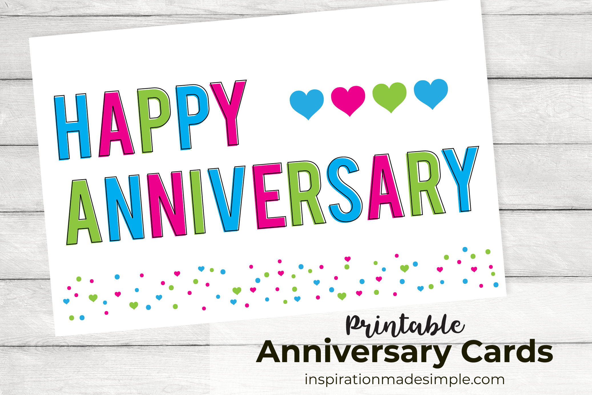 Anniversary Cards And Wedding Cards Free Printables