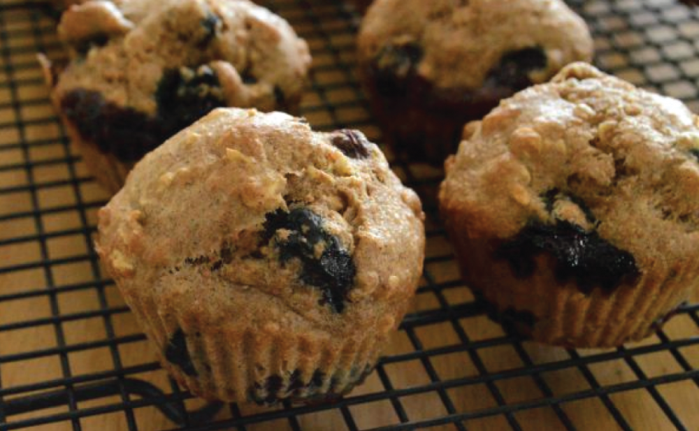 Sugar-Free Blueberry Muffins Recipe