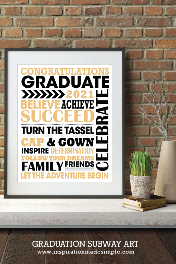 2021 Graduation Gift Idea