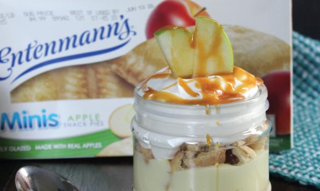 No-Bake Mini Apple Pie Trifle