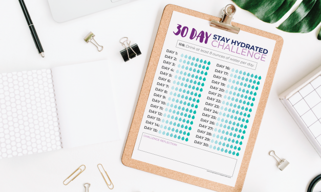 Staying hydrated challenge