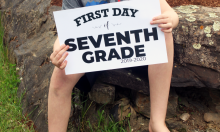 First & Last Day of School Picture Signs