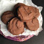 Chocolate Caramel Ritz Cookies
