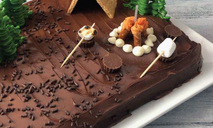DIY Camping Cake