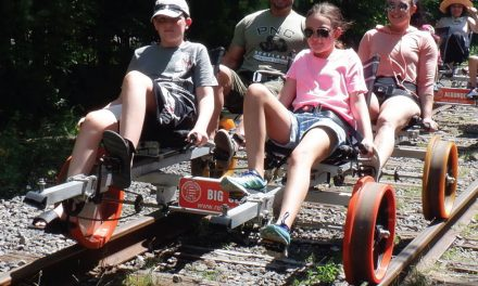 Railbiking in the Adirondacks