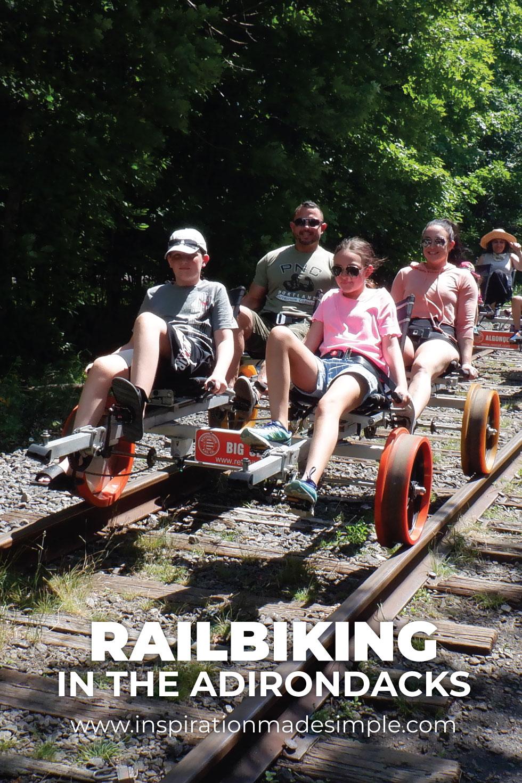 Railbiking with Revolution Rail Company