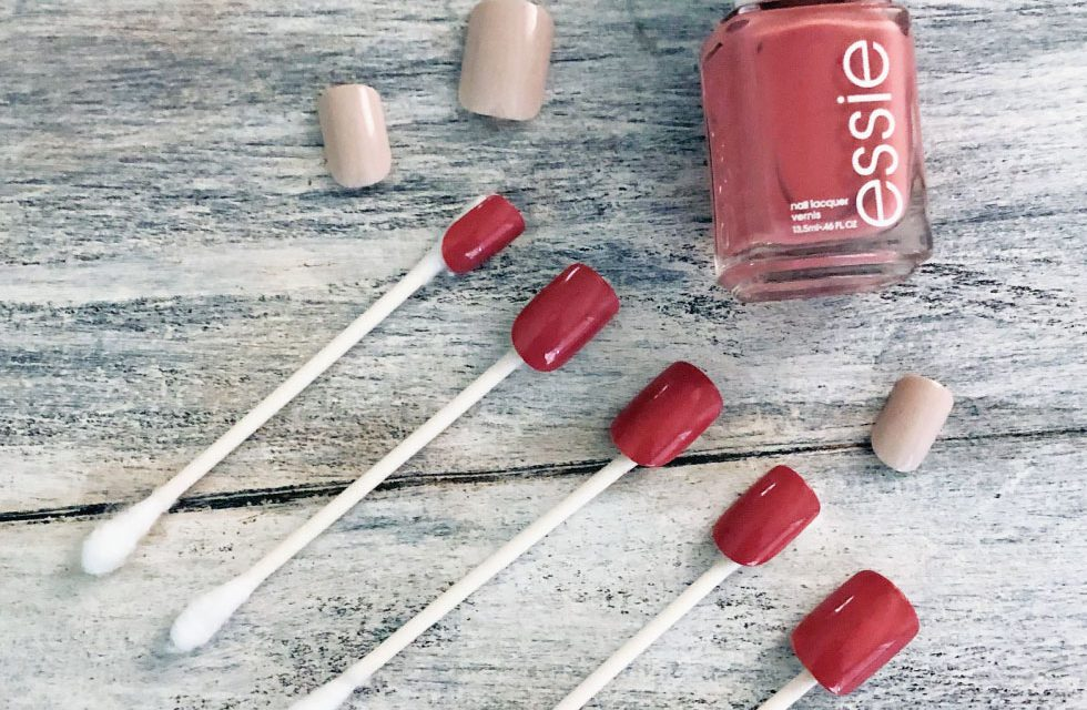 Painting Glue-On Nails