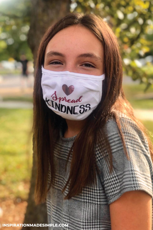 Spread Kindness DIY Face Mask