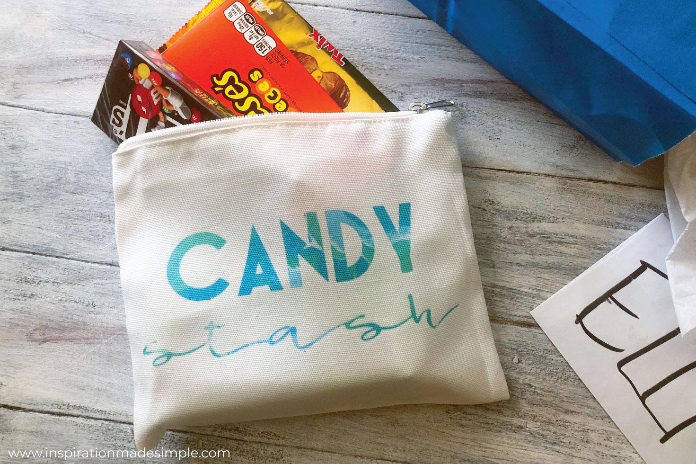 DIY Candy Stash Bag