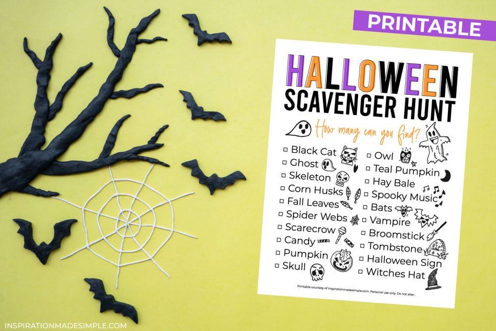 Printable Halloween Game for Kids