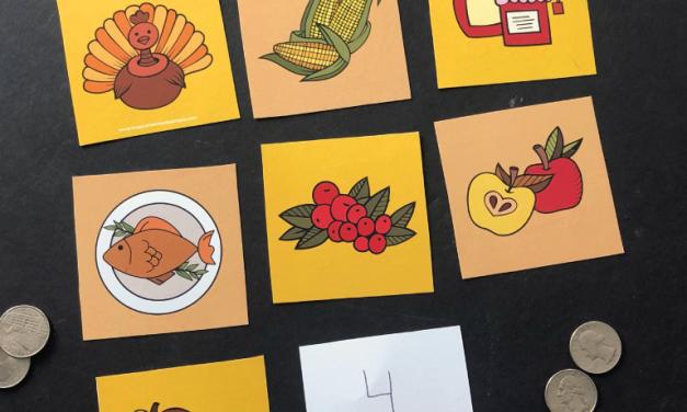 Thanksgiving Children's Game