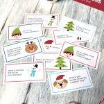 Printable Christmas Conversation Topics