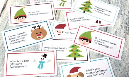 Printable Christmas Conversation Topics