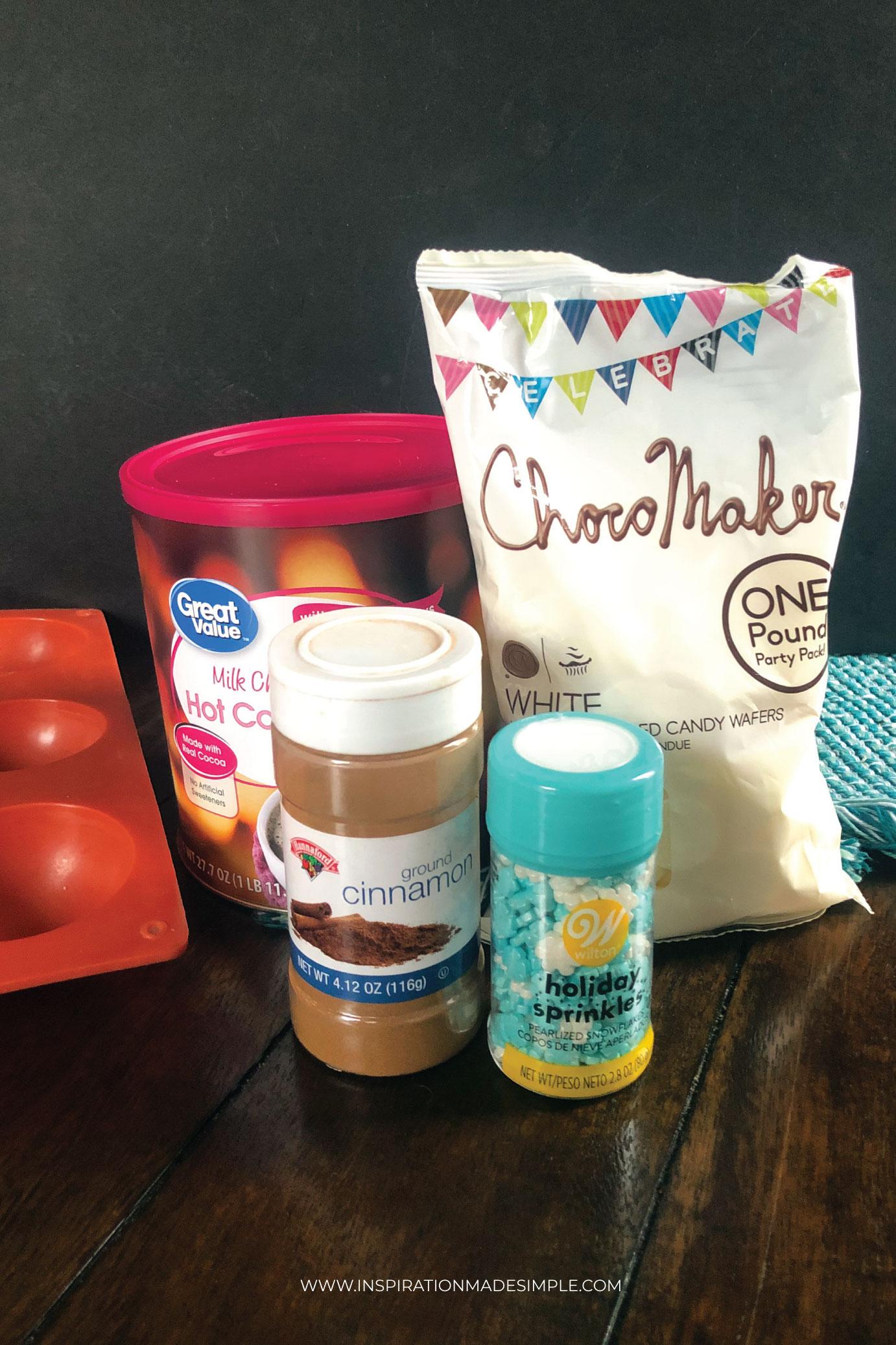 Cocoa bomb ingredients