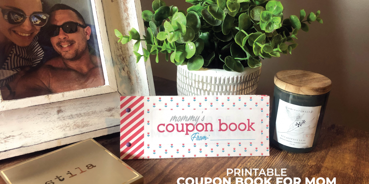 Coupon Book Printable for Mom