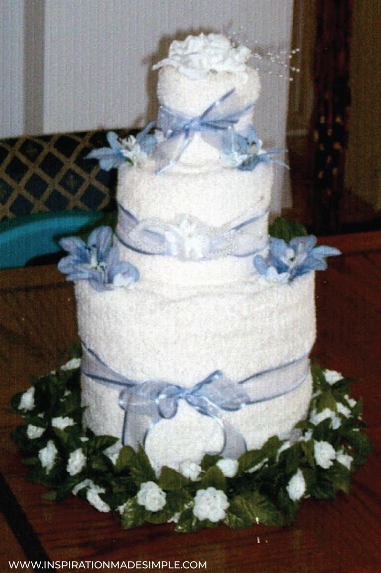 DIY Towel Cake