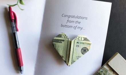 Heart Money Printable Card
