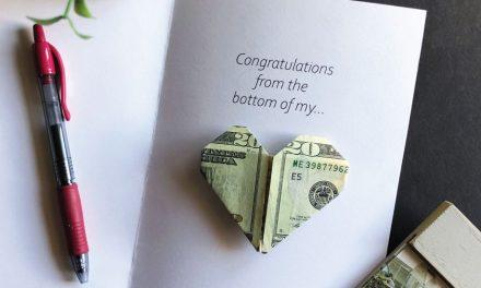 Heart Money Printable Card