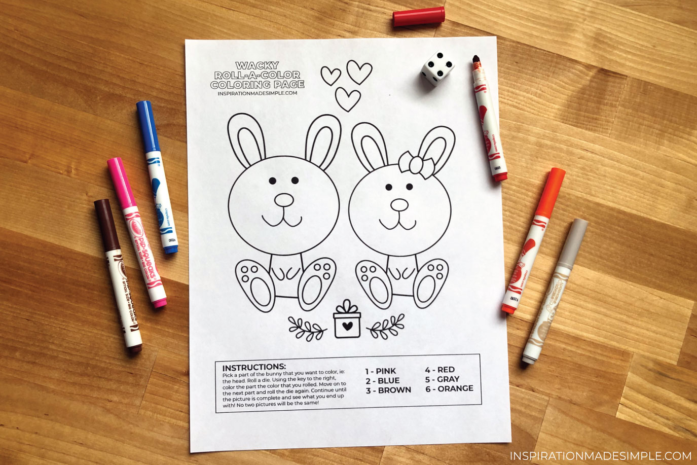 Fun Printable Coloring Activity for Kids