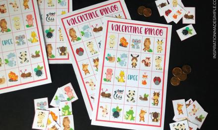 Printable Valentine Bingo Game