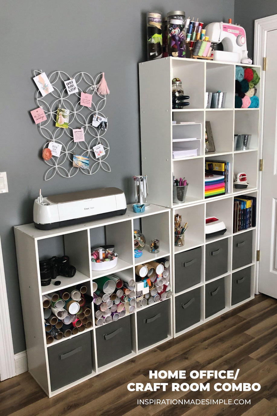 Home Office Craft Room Combo