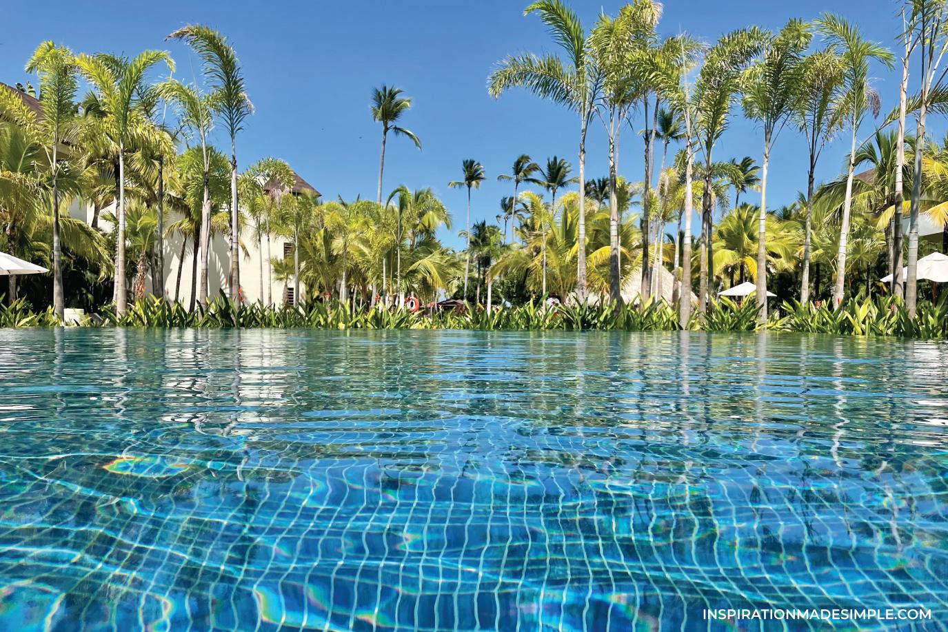 Dreams Royal Beach Infinity Pool
