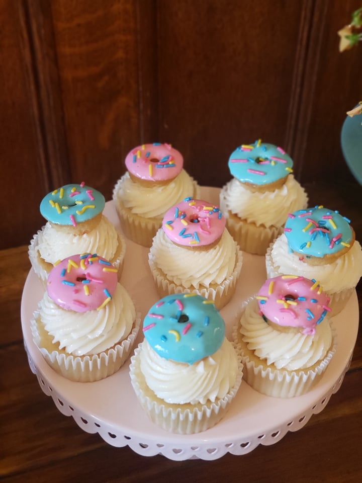 Donut Themed Cupcakes
