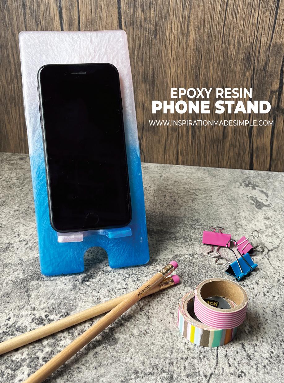 DIY Resin Phonestand