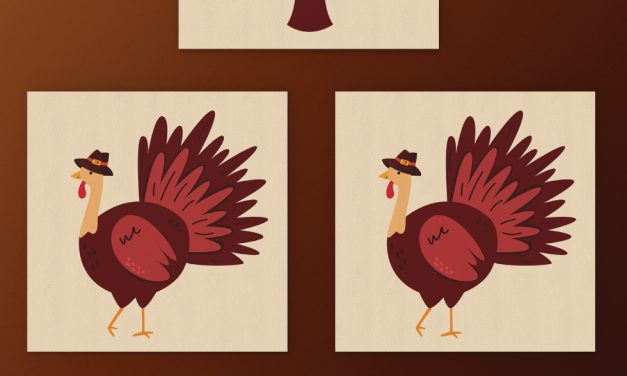 Printable Thanksgiving Memory Cards for Kids